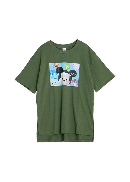 TSUMTSUM寬鬆長版T恤