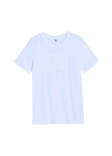 英文壓印短袖T恤
