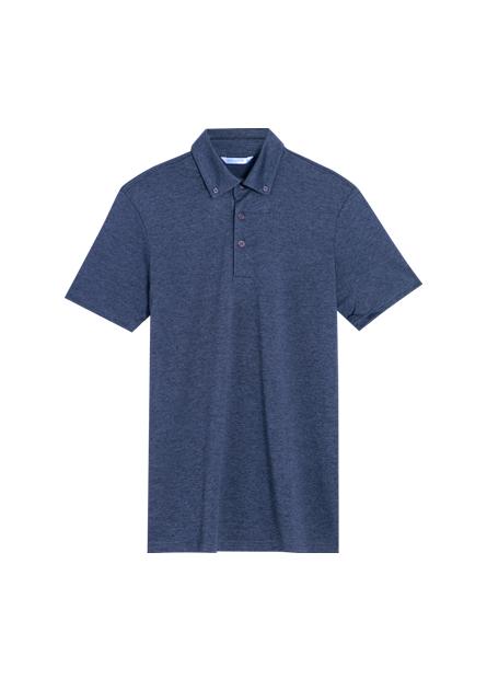 鈕釦領排汗POLO衫
