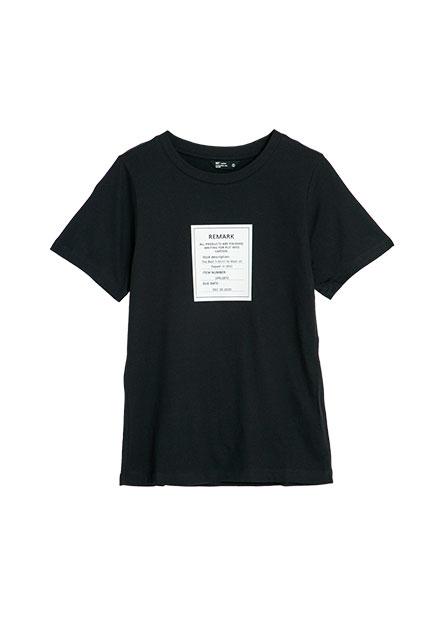 標籤印字T恤
