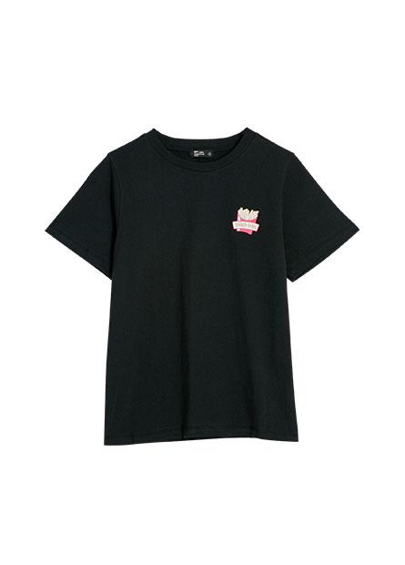 爆米花印花T恤