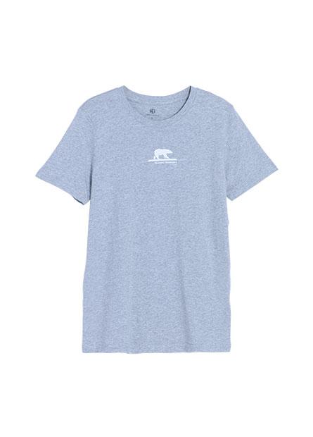 冰塊北極熊印花T恤
