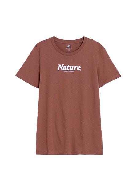 Nature印字T恤