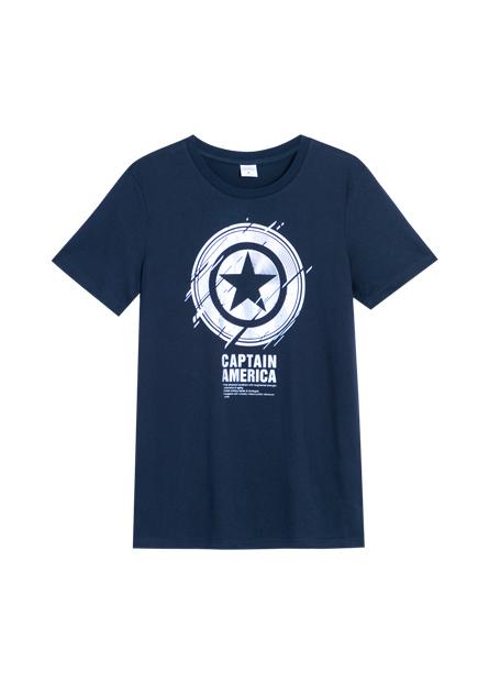 美國隊長盾牌T恤