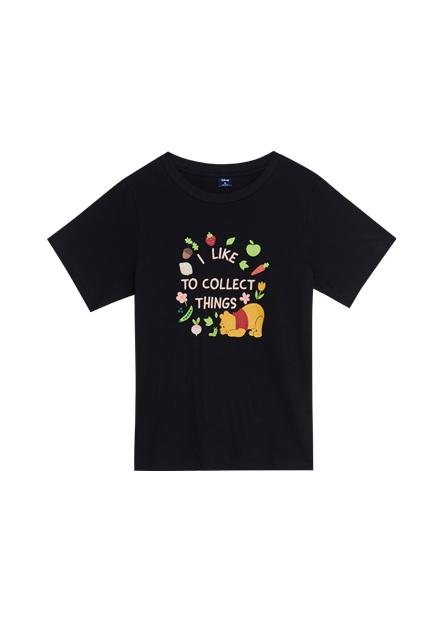 小熊維尼印花T恤