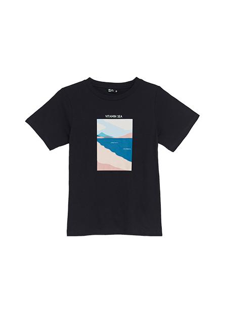 大自然風景印花T恤