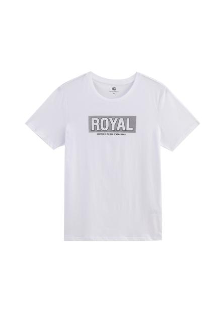 ROYAL印字T恤