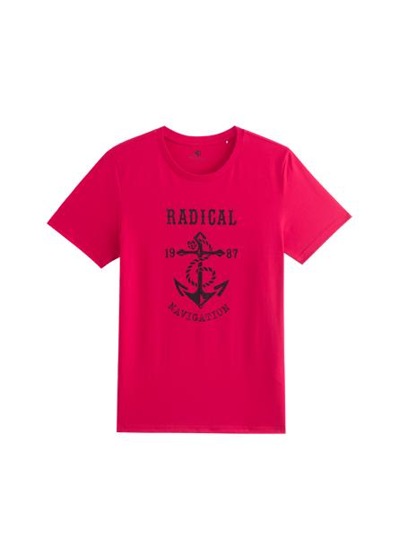 美式海錨印花T恤