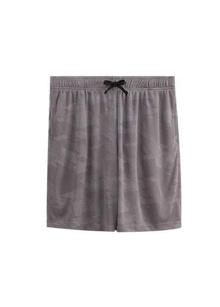 機能鬆緊綁帶短褲