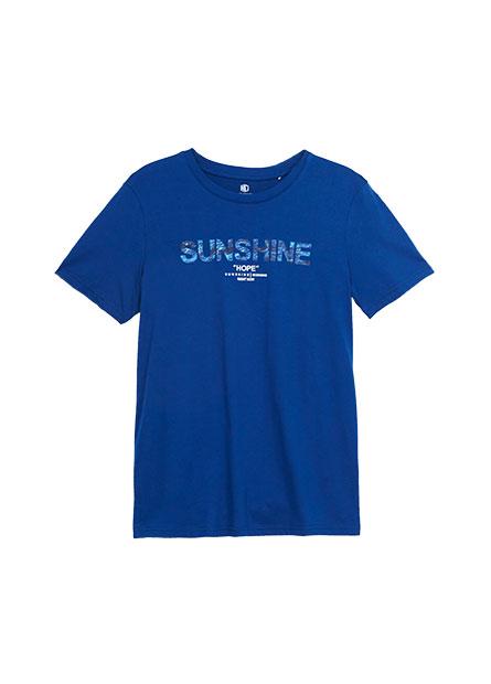 SUNSHINE印字T恤