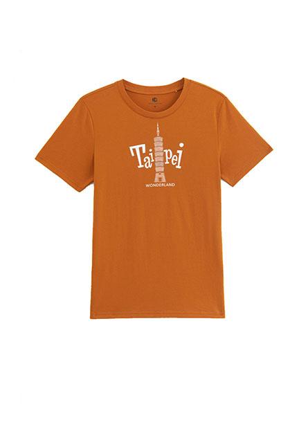 台北101印花T恤