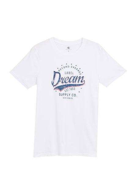美式印花T恤