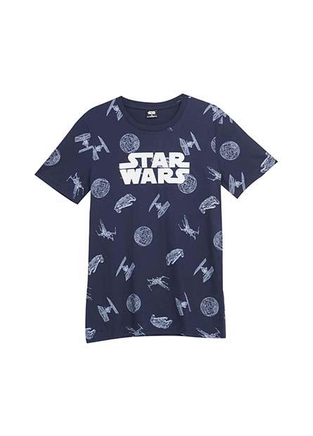 STAR WARS滿版印花T恤