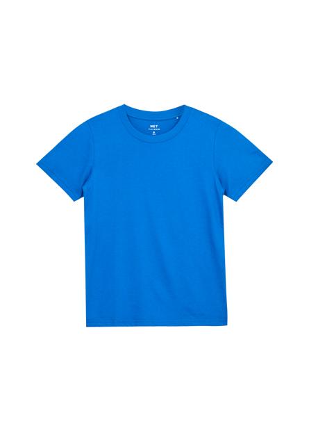 男領素面圓領T恤