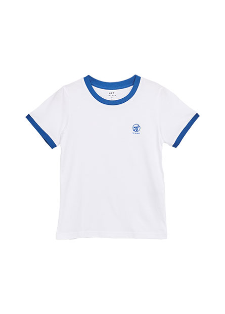 男童圓領印花T恤