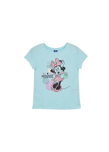 女童米妮印花T恤