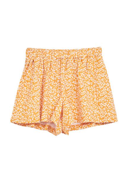 女童滿版印花褲裙