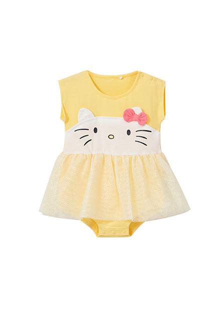 女嬰Kitty網紗包臀衣