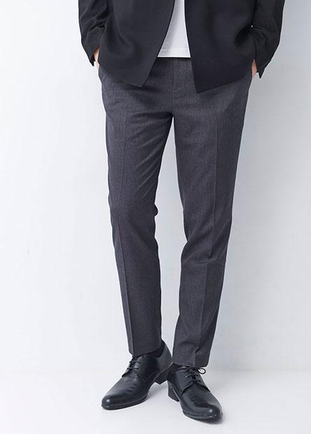 Skinny Fit窄管西裝長褲