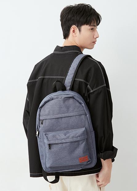 多口袋休閒後背包(中性)