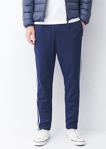 健康布滑面休閒長褲