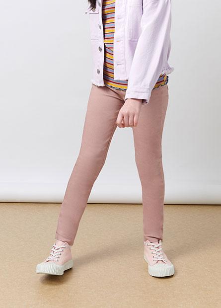 女童內刷毛輕便緊身褲