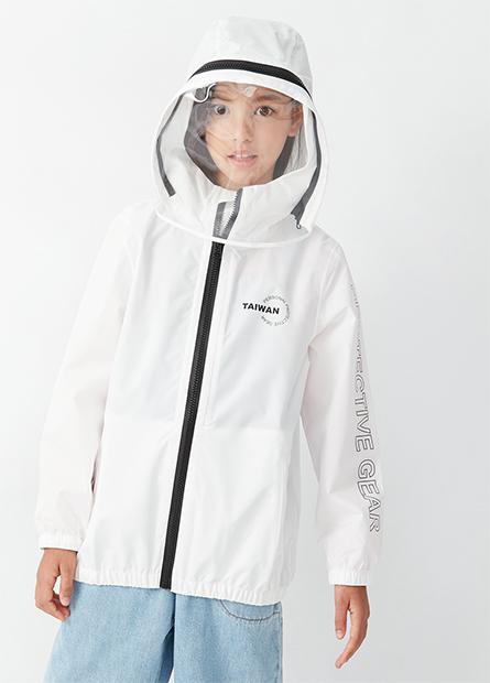 童台灣字樣機能防護外套