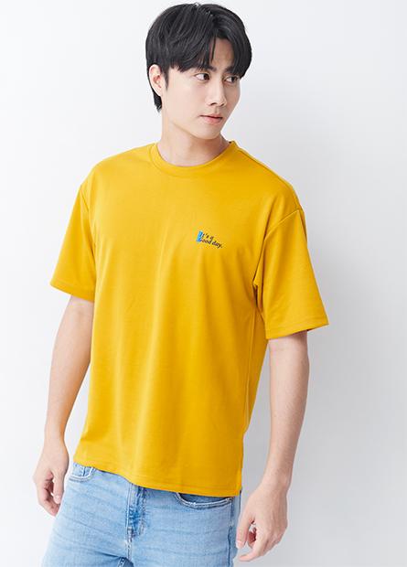 彈性寬鬆印字T恤