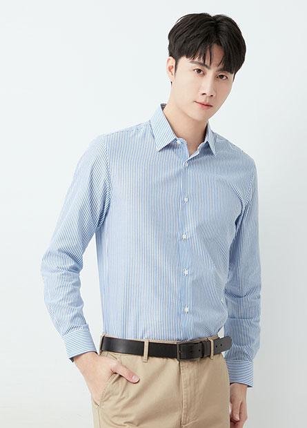 修身標準領基本襯衫