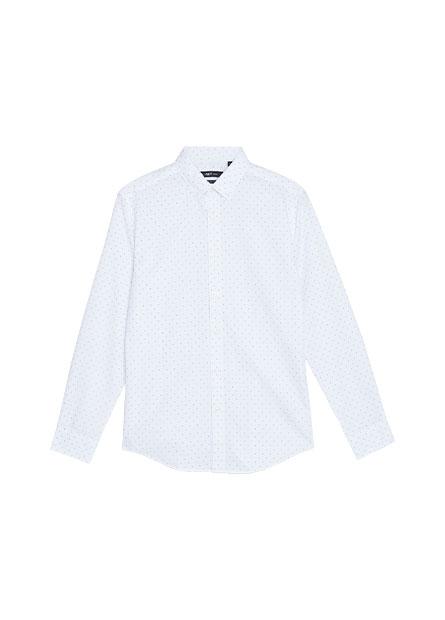 Slim Fit釘釦領商務襯衫