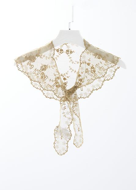 蕾絲造型領巾