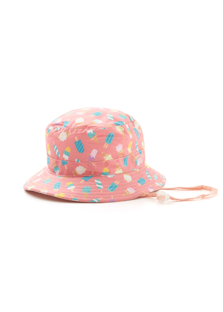 童俏皮印花漁夫帽