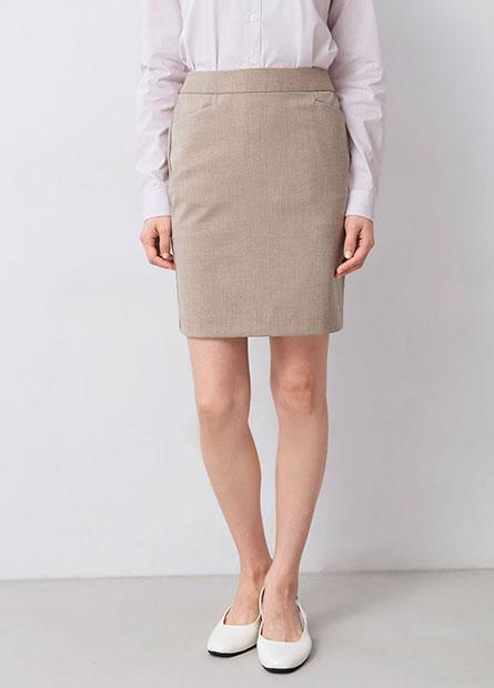 Regular Fit基本商務短裙