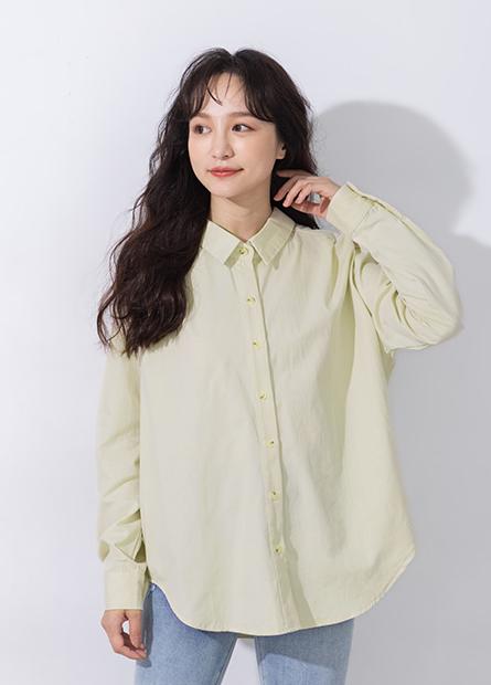 襯衫領釦環設計襯衫