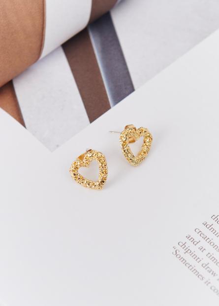 簡約幾何造型耳環