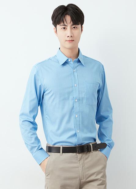 防皺商務長袖襯衫