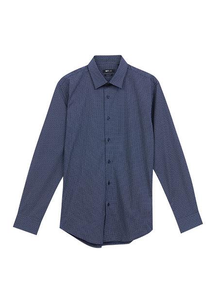 修身標準領襯衫