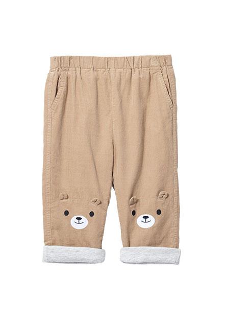 嬰兒熊熊燈芯絨長褲