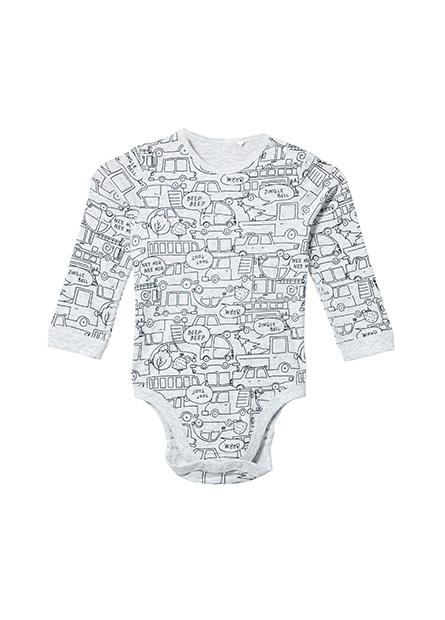 嬰兒可愛圖樣包臀衣