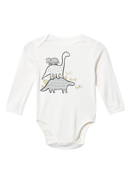 嬰兒可愛印花包臀衣
