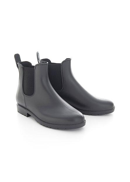 側鬆緊帶低筒雨靴