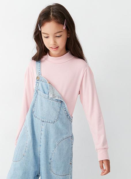 童特暖發熱高領T恤(中性)