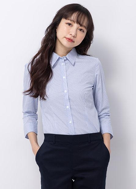 基本商務七分袖襯衫