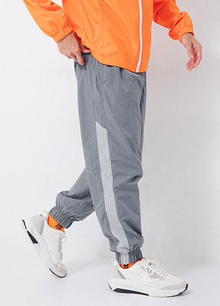 側條雙層機能束口褲