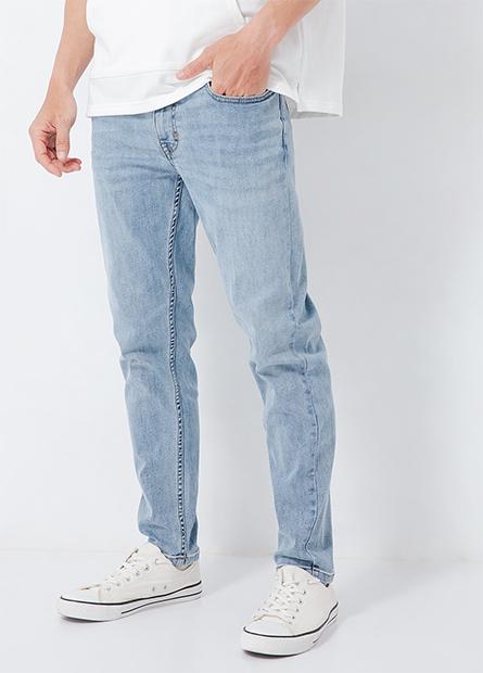 Skinny Fit 合身窄管九分牛仔褲