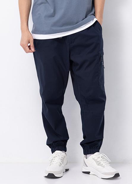 防風保暖工作束口褲
