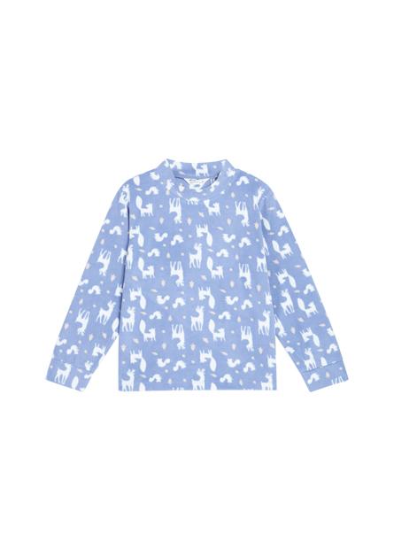 女童Fleece家居立領上衣
