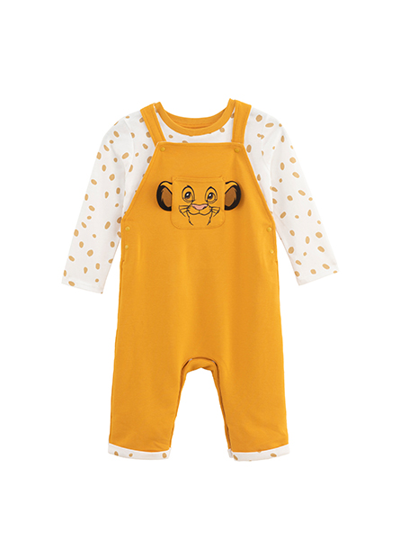 嬰兒迪士尼聯名吊帶套裝
