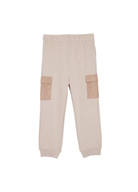 男嬰貼帶休閒長褲